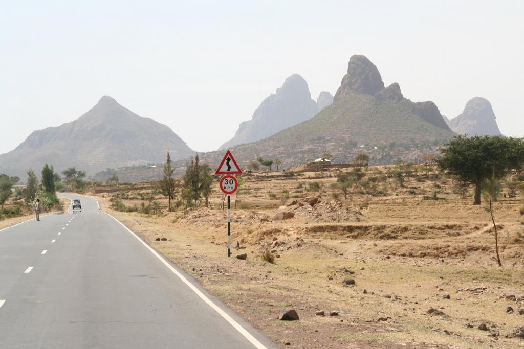 Berge bei Adwa