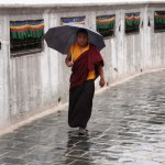Kreisen um die Stupa