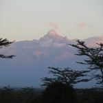 Gruß vom Mount Kenya