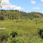 Landschaft bei Nyeri