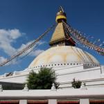 Die Stupa ist noch da ...