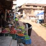 Straße in Sankhu