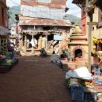 Unterwegs in Sankhu