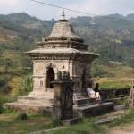 Tempel vor der Stadt