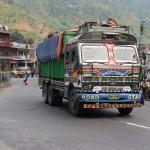 Güterverkehr von/nach Indien