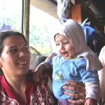 Anita mit Tochter