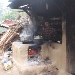 Küche am Straßenrand